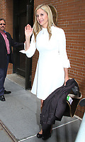 NEW YORK, NY - JUNE 6:  Mira Sorvino spotted arriving at 'The View'  in New York, New York on June 6, 2018.  <br /> CAP/MPI/RMP<br /> &copy;RMP/MPI/Capital Pictures