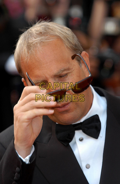 "KEVIN COSTNER .arrivals at screening of.""The Martix-Reloaded"".Cannes Film Festival 2003.www.capitalpictures.com.sales@capitalpictures.com.©Capital Pictures"
