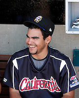 Alex Torres ---  At the annual California League-Carolina League all-star game at the Diamond in Lake Elsinore, CA - 06/23/2009. The game was won by the California League, 2-1, on a walk-off homerun by Lancaster's Jon Gaston..Photo by:  Bill Mitchell/Four Seam Images