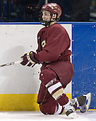 "Brock Bradford made it to the ""final"" of the breakaway contest - The Boston College Eagles practiced at the Bradley Center in Milwaukee, Wisconsin, on April 7, 2006 in preparation for the 2006 Frozen Four Final game vs. the University of Wisconsin on April 8, 2006."