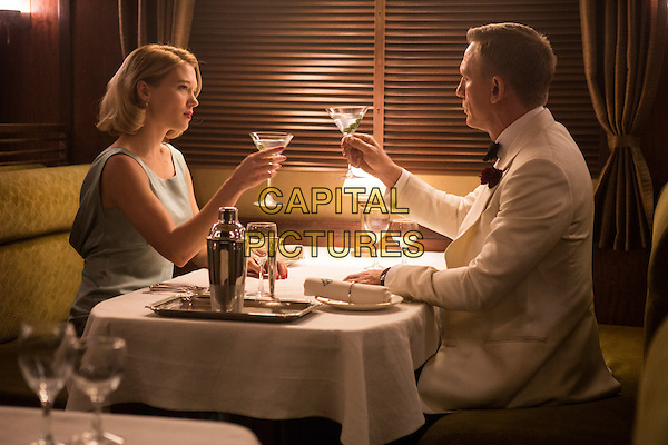 Spectre (2015) <br /> Lea Seydoux, Daniel Craig<br /> *Filmstill - Editorial Use Only*<br /> CAP/FB<br /> Image supplied by Capital Pictures