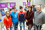 At the IT Tralee  Spring Open Day on Saturday were Sinead O'Hagan, Health and Leisure, Eoin O'Mara, Health and Leisure with PE, Karl Minnock, Annette Minnock, Michael Hall, Head of Health and Leisure Studies
