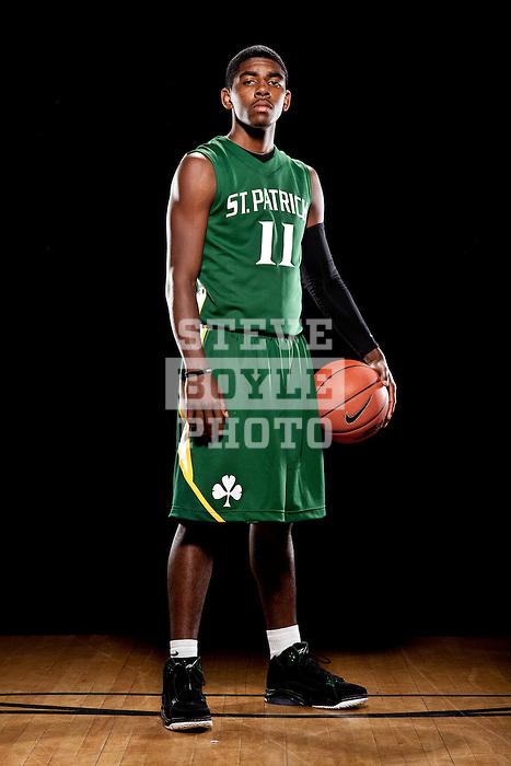 St. Patrick s boys basketball player senior Kyrie Irving (11) on November 3 8a5f4ed17