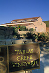 Tablas Creek Vineyards, Adelaida Road, Paso Robles, San Luis Obispo County, California