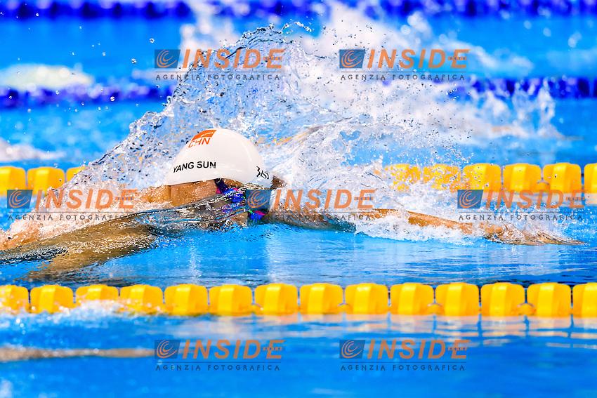 YANG Sun CHN <br /> 400m Freestyle Men <br /> Rio de Janeiro 06-08-2016 Olympic Aquatics Stadium <br /> Swimming Nuoto <br /> Foto Andrea Staccioli/Deepbluemedia/Insidefoto