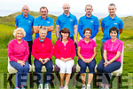 The Castleross Golf Club Killarney playing in the 9&rsquo;s of Kerry Golf competition in Ballybunion GC on Saturday.<br /> Seated l-r, Mary Tobin, Chan Martin, Una Moroney, Eileen Sugrue and Maire Murphy.<br /> Back l-r, Mick Clifford, Steve and Daniel Shine, Gintaras Bendaravicius and Stephen Dennehy.