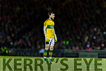 Brendan Kealy Kerry in action against  Dublin in the National League in Austin Stack park on Saturday night.