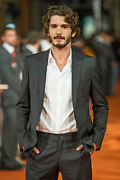 Spanish actor Yon Gonzalez poses for the photographers on the Orange Carpet for to present the TV serie Bajo Sospecha during of 6th 'FesTVal' Television Festival 2014 in Vitoria, northern Spain. September 05, 2014. (ALTERPHOTOS/Sirocco)