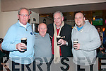 Richies bar,Rock St,Tralee now known as 'An Shebeen' is under new management and enjoying the fun last Sunday night at the official opening were L-R Alan Bulman,Francie Houlihan,Karl Bulman&Alan Bulman jnr.