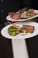 Europe/France/Nord-Pas-de-Calais/Pas-de-Calais/62/Le Touquet: Assiettes  de charcuteries du Restaurant: L'Escale