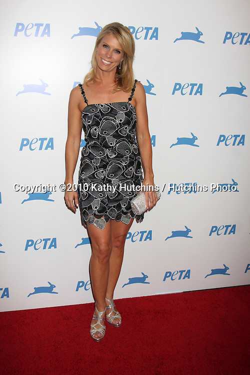 LOS ANGELES - SEP 25:  Cheryl Hines arrives at the PETA 30th Anniversary Gala at Hollywood Palladium on September 25, 2010 in Los Angeles, CA
