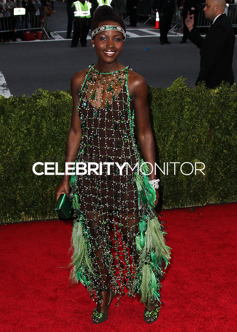 "NEW YORK CITY, NY, USA - MAY 05: Lupita Nyong'o at the ""Charles James: Beyond Fashion"" Costume Institute Gala held at the Metropolitan Museum of Art on May 5, 2014 in New York City, New York, United States. (Photo by Xavier Collin/Celebrity Monitor)"