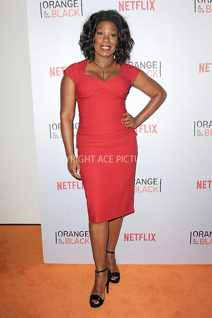 WWW.ACEPIXS.COM<br /> June 11, 2015 New York City<br /> <br /> Lorraine Touissant attending the 'Orangecon' Fan Event at Skylight Clarkson SQ on June 11, 2015 in New York City.<br /> <br /> Credit : Kristin Callahan/ACE Pictures<br /> Tel: (646) 769 0430<br /> e-mail: info@acepixs.com<br /> web: http://www.acepixs.com