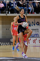 Silver Ferns' Kayla Cullen in action during the International Netball - NZ Silver Ferns v England Roses at Te Rauparaha Arena, Porirua, New Zealand on Thursday 7 September 2017.<br /> Photo by Masanori Udagawa. <br /> www.photowellington.photoshelter.com