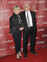 Bruce Dern &amp; wife Andrea Beckett at the 2014 Palm Springs International Film Festival Awards gala at the Palm Springs Convention Centre.<br /> January 4, 2014  Palm Springs, CA<br /> Picture: Paul Smith / Featureflash