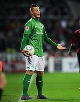 FUSSBALL   1. BUNDESLIGA   SAISON 2011/2012   23. SPIELTAG SV Werder Bremen - 1. FC Nuernberg                   25.02.2012 Marko Arnautovic (SV Werder Bremen) enttaeuscht