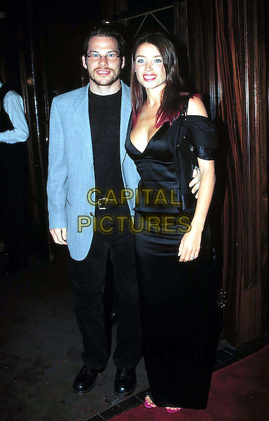 "JACQUES VILLENEUVE & DANNI MINOGUE..Opening Night Of ""Notre Dame De Paris""At The Dominion Theatre..Ref: 9657..celeb couple, full length, full-length..www.capitalpictures.com..sales@capitalpictures.com..©Capital Pictures"