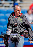 6 March 2019: Photographer Steve Moore arrives to shoot a Spring Training game between the Toronto Blue Jays and the Philadelphia Phillies at Dunedin Stadium in Dunedin, Florida. The Blue Jays defeated the Phillies 9-7 in Grapefruit League play. Mandatory Credit: Ed Wolfstein Photo *** RAW (NEF) Image File Available ***