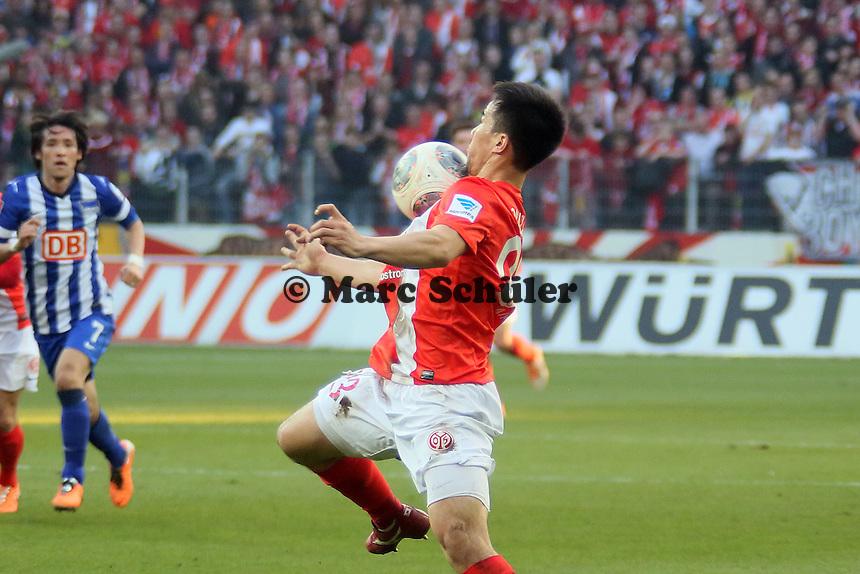 Shinji Okazaki (Mainz) - 1. FSV Mainz 05 vs. Hertha BSC Berlin, Coface Arena, 24. Spieltag