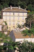 Europe/France/Corse/2B/Haute-Corse/Cap Corse/Nonza: Maison d'américain