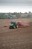 Drilling Winter wheat in Rutland <br /> &copy;Tim Scrivener Photographer 07850 303986<br />      ....Covering Agriculture In The UK....
