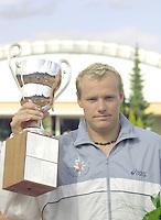 Marcel Reuter wint de Nationale tenniskampioenschappen