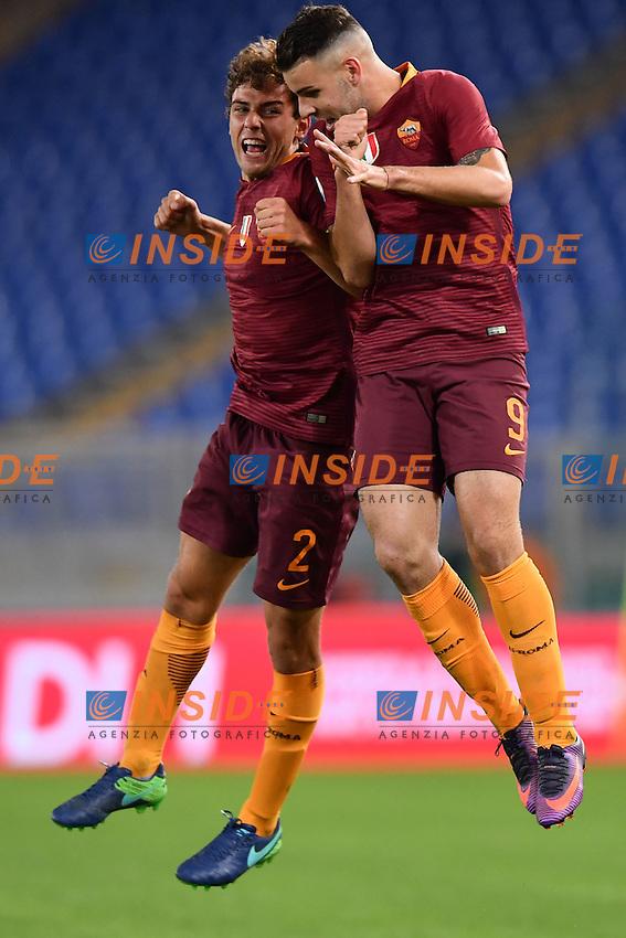 Roma 28-10-2016 Stadio Olimpico - Supercoppa Primavera . Young League Supercup / AS Roma - Inter / foto Antonello Sammarco/Image Sport/Insidefoto<br /> nella foto: esultanza gol Marco Tumminello