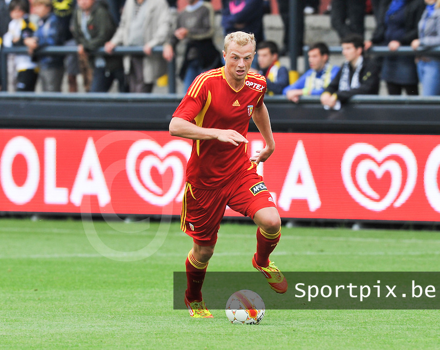Racing Club De Lens - RC Lens : David Pollet.foto DAVID CATRY / VDB