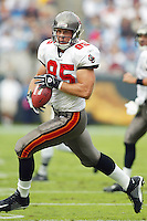 Ken Dilger In an NFL game played at Ericsson Stadium where the the Tampa Bay Buccaneers beat the Carolina Panthers 12-9