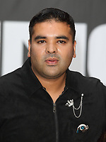 Naughty Boy at the King of Thieves World Premiere at Vue West End, Leicester Square, London on Wednesday 12 September 2018<br /> CAP/ROS<br /> &copy;ROS/Capital Pictures