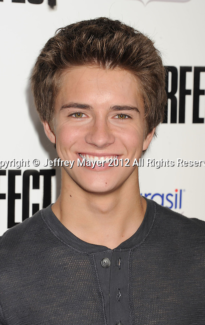 HOLLYWOOD, CA - SEPTEMBER 24: Billy Unger attends the 'Pitch Perfect' - Los Angeles Premiere at ArcLight Hollywood on September 24, 2012 in Hollywood, California.