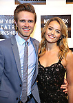 Kyle Riabko and Stephanie McKeon attends the 2018 New York Theatre Workshop Gala at the The Altman Building on April 16, 2018 in New York City