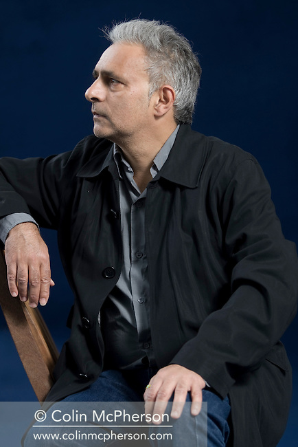"Bestselling British author Hanif Kureishi pictured at the Edinburgh International Book Festival where he talked about his latest book entitled ""Something to Tell You."" The three-week event is the world's biggest literary festival and is held during the annual Edinburgh Festival. 2008 was the Book Festival's 25th anniversary and featured talks and presentations by more than 500 authors from around the world."