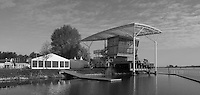 Brandenburg. GERMANY. Finish Tower and Canopy.<br /> 2016 European Rowing Championships at the Regattastrecke Beetzsee<br /> <br /> Thursday  05/05/2016<br /> <br /> [Mandatory Credit; Peter SPURRIER/Intersport-images]