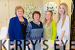 Pictured at the Gather by the Feale Womens Pampering Event 2015 on Sunday were L-R: Mary Shine, Abbeyfeale, Margaret White, Athea, Mairead White and Lisa Shine Abbeyfeale.