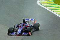 15th November 2019; Autodromo Jose Carlos Pace, Sao Paulo, Brazil; Formula One Brazil Grand Prix, Practice Day; Daniil Kvyat (RUS) Scuderia Toro Rosso STR14 - Editorial Use