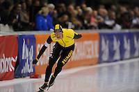SCHAATSEN: ENSCHEDE: 30-10-2015, IJsbaan Twente, KNSB Cup Enschede, Sven Kramer, ©foto Martin de Jong