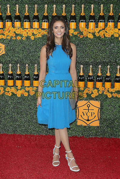 17 October 2015 - Pacific Palisades, California - Nina Dobrev. Sixth-Annual Veuve Clicquot Polo Classic, Los Angeles held at Will Rogers State Historic Park. <br /> CAP/ADM/FS<br /> &copy;FS/ADM/Capital Pictures