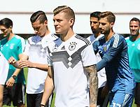 Toni Kroos (Deutschland Germany) bei der Mannschaft - 05.06.2018: Training der Deutschen Nationalmannschaft zur WM-Vorbereitung in der Sportzone Rungg in Eppan/Südtirol