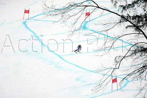 11.02.2011  FIS ALPINE WORLD SKI CHAMPIONSHIPS. MARSAGLIA Francesca in Garmisch-Partenkirchen, Germany.
