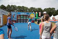 17-06-13, Netherlands, Rosmalen,  Autotron, Tennis, Topshelf Open 2013, ,  KNLTB Plaza kinderen <br /> Photo: Henk Koster
