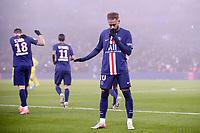 JOIE - 10 NEYMAR JR (PSG)<br /> 04/12/2019<br /> Paris Saint Germain PSG - Nantes <br /> Calcio Ligue 1 2019/2020 <br /> Foto Philippe LECOEUR Panoramic/insidefoto <br /> ITALY ONLY