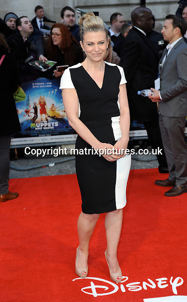 NON EXCLUSIVE PICTURE: PAUL TREADWAY / MATRIXPICTURES.CO.UK<br /> PLEASE CREDIT ALL USES<br /> <br /> WORLD RIGHTS<br /> <br /> English author Jane Fallon attending The Muppets Most Wanted VIP film screening, at The Curzon Mayfair in London.<br /> <br /> MARCH 24th 2014<br /> <br /> REF: PTY 141470