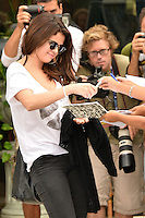 Selena Gomez arrives for the 69th Venice