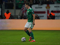 Paddy McNair (Nordirland, Northern Ireland) - 19.11.2019: Deutschland vs. Nordirland, Commerzbank Arena Frankfurt, EM-Qualifikation DISCLAIMER: DFB regulations prohibit any use of photographs as image sequences and/or quasi-video.