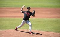 Stanford, Ca - June 2, 2019: The Stanford Cardinal vs Sacramento State Hornets NCAA Regional baseball game at Sunken Diamond in Stanford, CA.