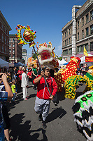 Dragon Fest, Chinatown, Seattle, Washington State, USA.