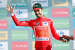 Jesus Herrada (ESP) Cofidis retains the race leaders Red Jersey at the end of Stage 13 of the La Vuelta 2018, running 174.8km from Candas, Carreno to Valle de Sabero, La Camperona, Spain. 7th September 2018.<br /> Picture: Unipublic/Photogomezsport | Cyclefile<br /> <br /> <br /> All photos usage must carry mandatory copyright credit (&copy; Cyclefile | Unipublic/Photogomezsport)