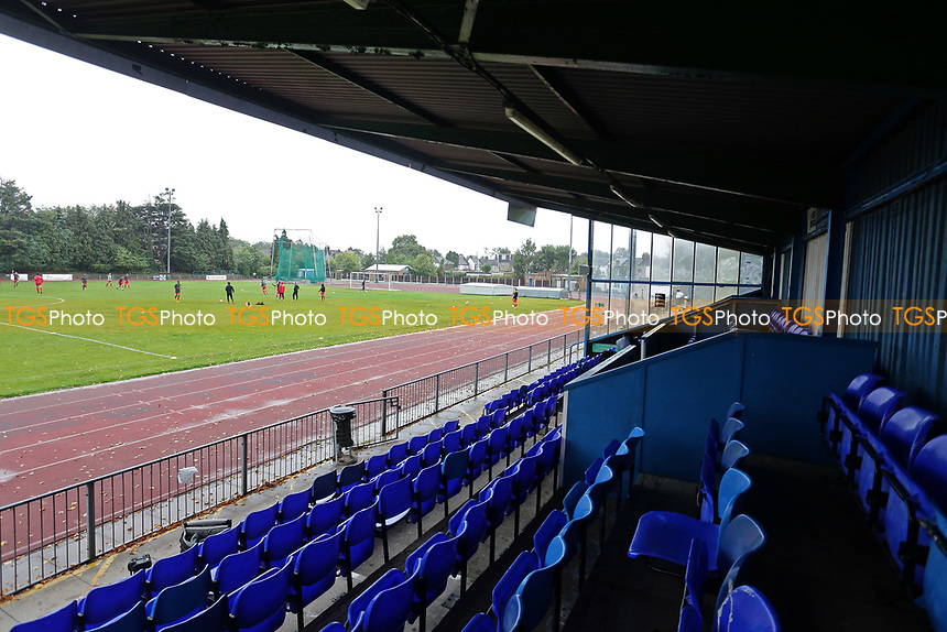 General view of the ground during Ilford vs Walthamstow, Essex Senior League Football at Cricklefields Stadium on 6th October 2018