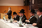 10.11.2013, Berlin. Hotel Holiday Inn West. Eröffnung der Conference of European Rabbis (CER). Rabbiner Bleich